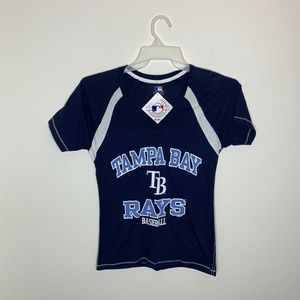 NWT Genuine Merchandise Womens S Navy MLB Rays
